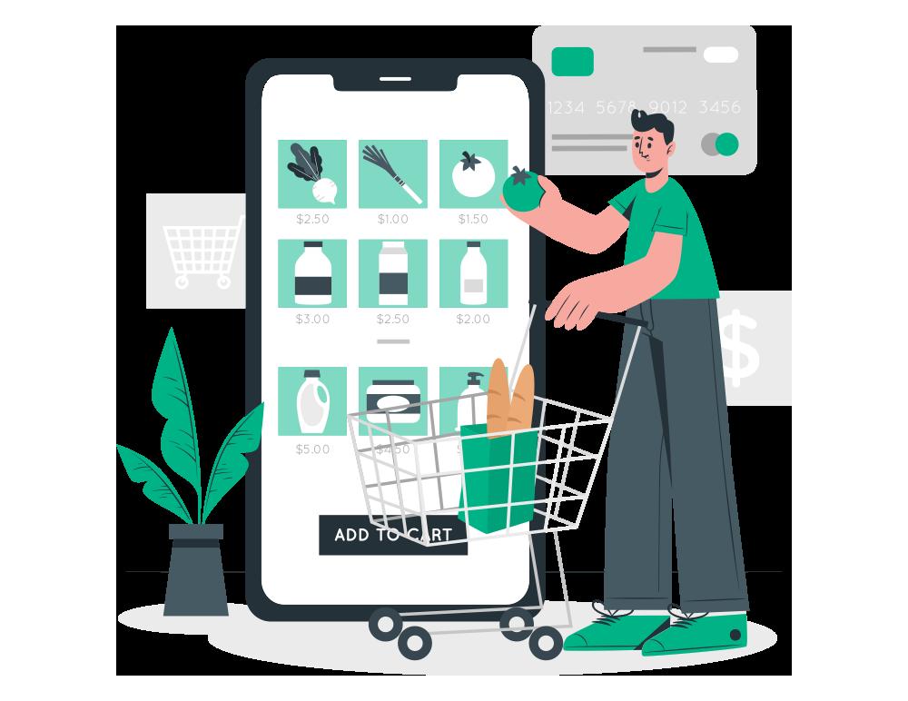 SaaS-based Grocery Service